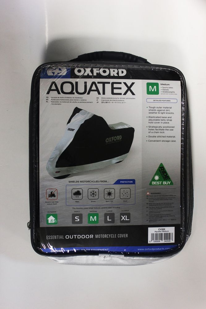 Чехол на мотоцикл Oxford AquaTex