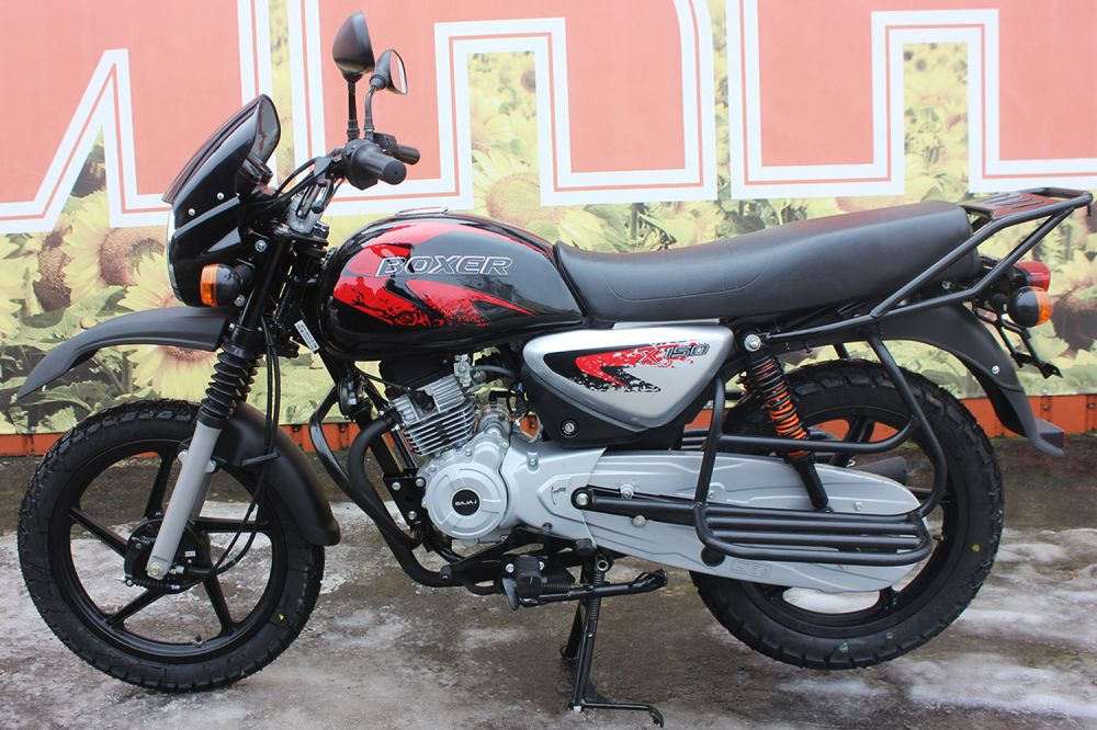 Мотоцикл BAJAJ BOXER 150 CROSS VIP (Индия)